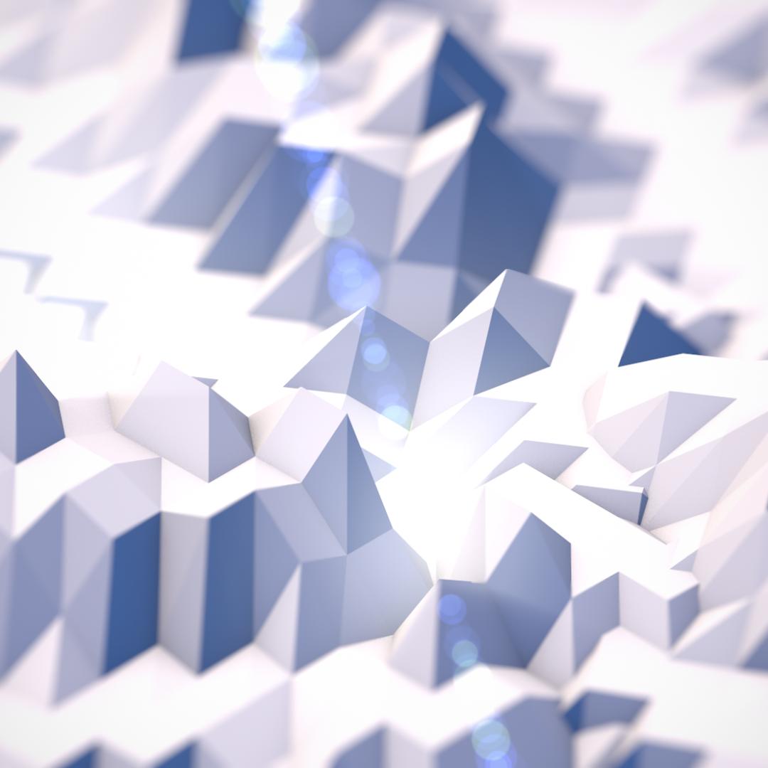 low_polygon_snowy_mountains